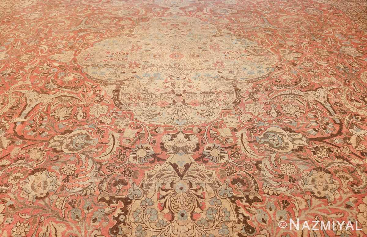 Palace Size Antique Persian Tabriz Carpet 50111 Woven Knots Nazmiyal