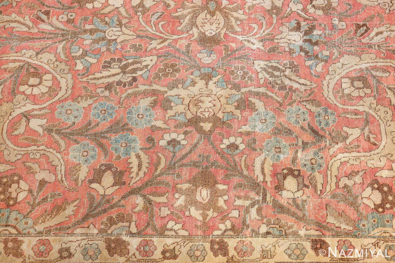 Palace Sized Antique Persian Tabriz Carpet By Nazmiyal Nyc