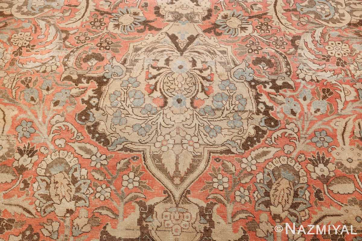 Palace Size Antique Persian Tabriz Carpet 50111 Tiara Eye Down Nazmiyal