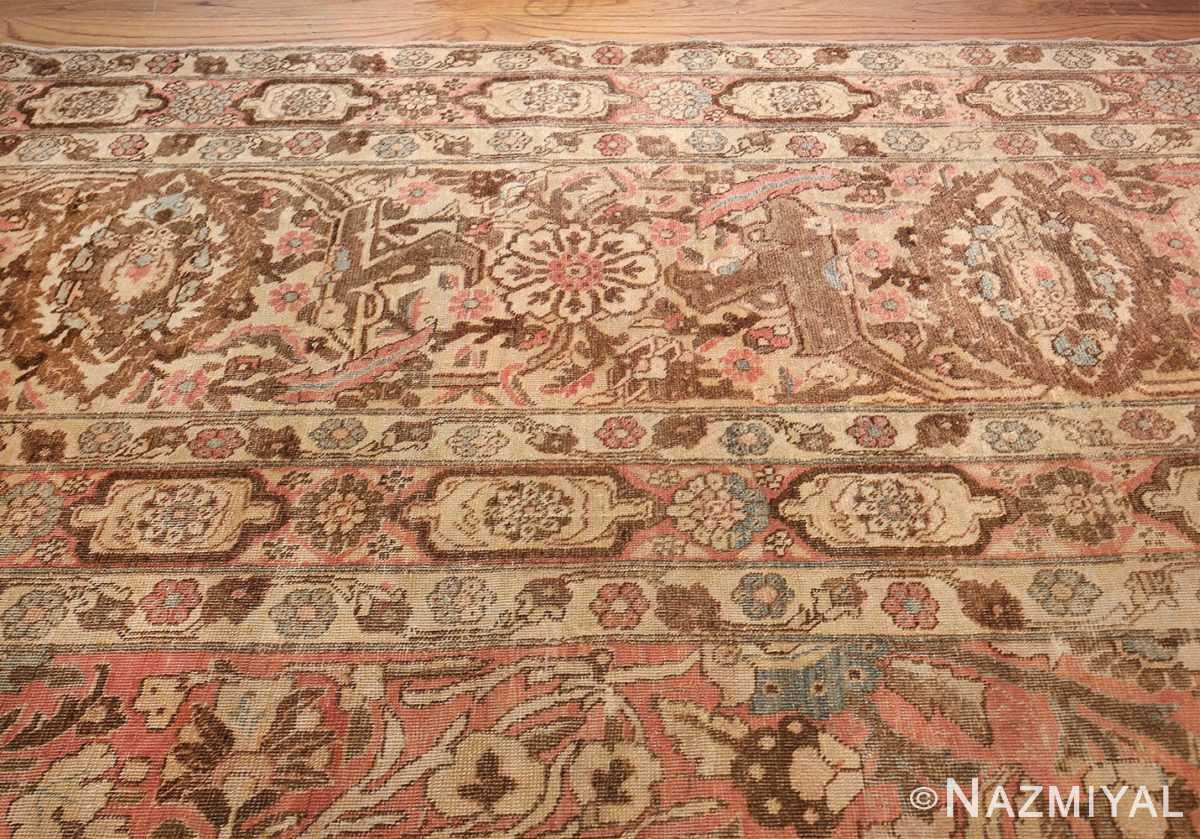 Palace Size Antique Persian Tabriz Carpet 50111 Top Border Design Nazmiyal