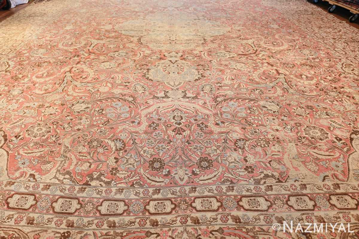 Palace Size Antique Persian Tabriz Carpet 50111 Whole Design Nazmiyal