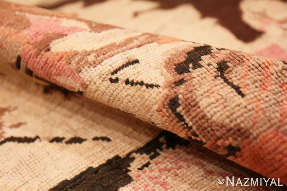 Pile Antique Caucasian Karabagh runner rug 50028 by Nazmiyal