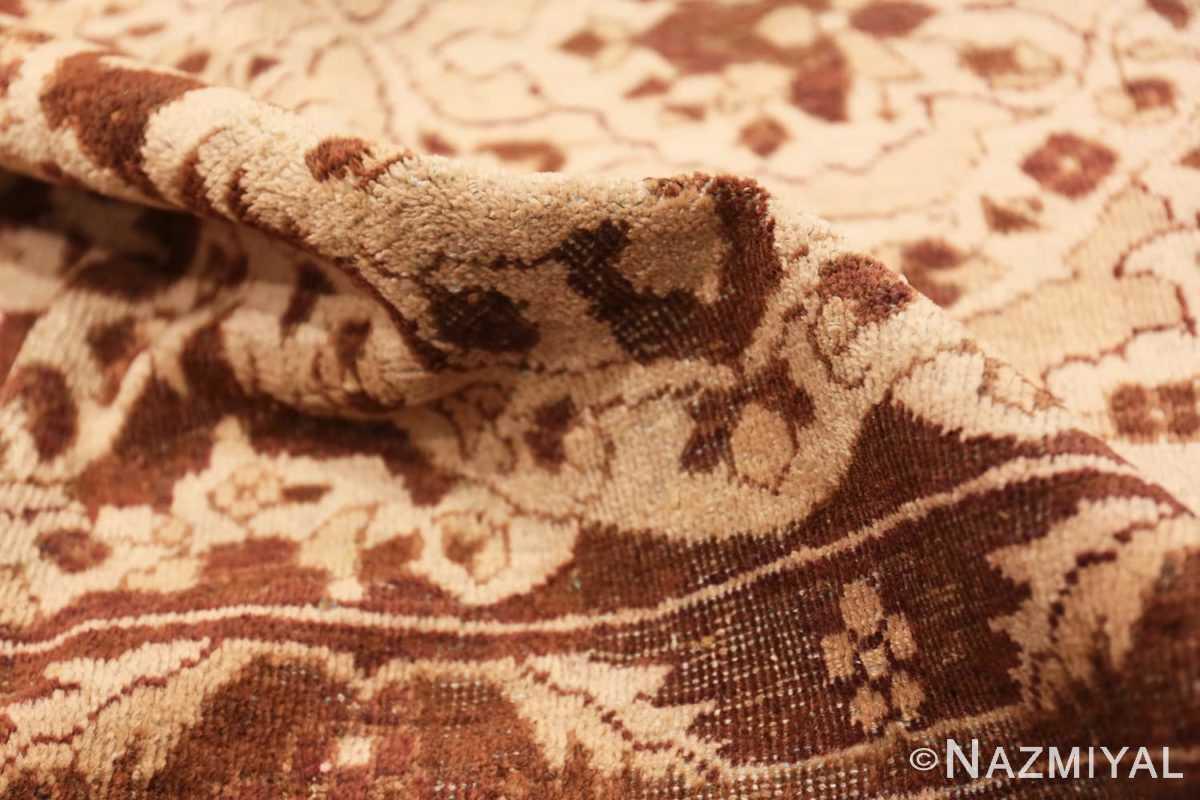 Pile Vintage Purple Moroccan rug 45984 by Nazmiyal