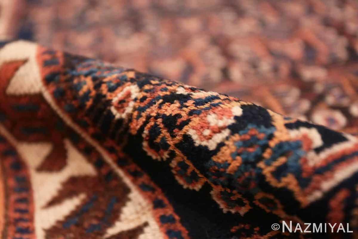 Pile Antique Persian Afshar rug 50186 by Nazmiyal