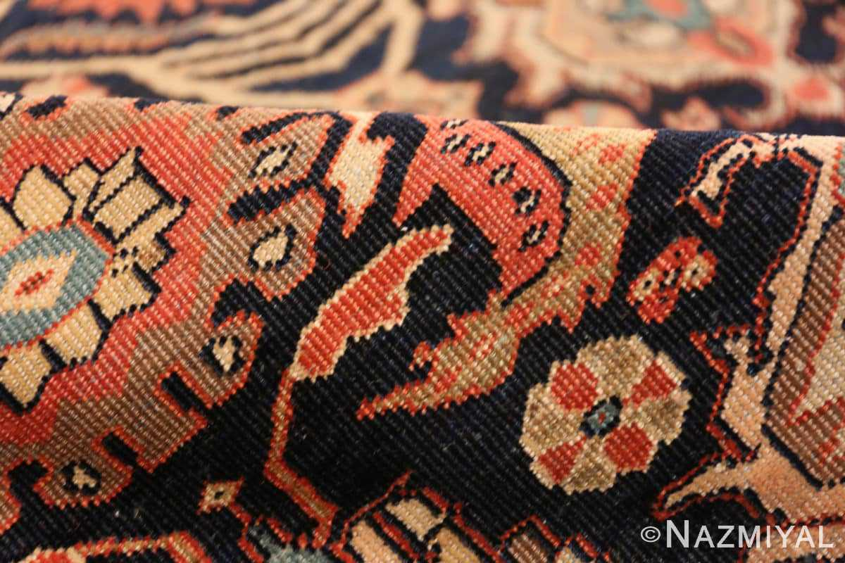 Pile Antique room sized Persian Farahan carpet 50149 by Nazmiyal