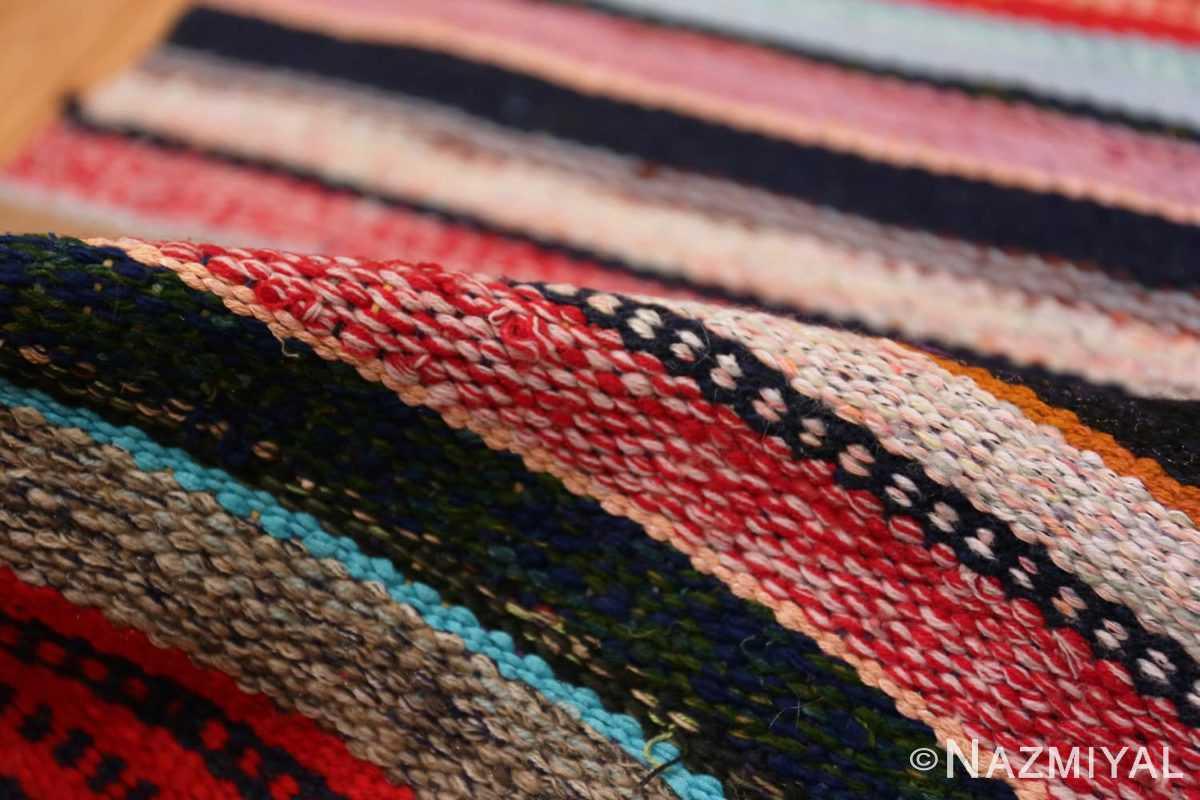 Pile Vintage Swedish rag rug 46667 by Nazmiyal