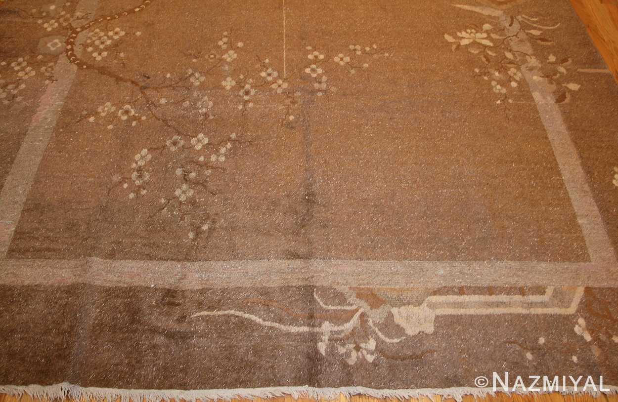 room sized antique mongolian carpet 50207 border Nazmiyal