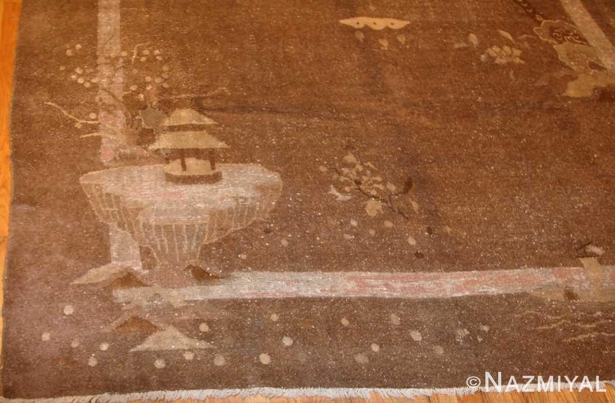 room sized antique mongolian carpet 50207 design Nazmiyal