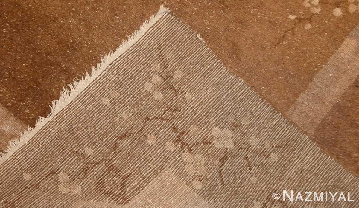 room sized antique mongolian carpet 50207 weave Nazmiyal
