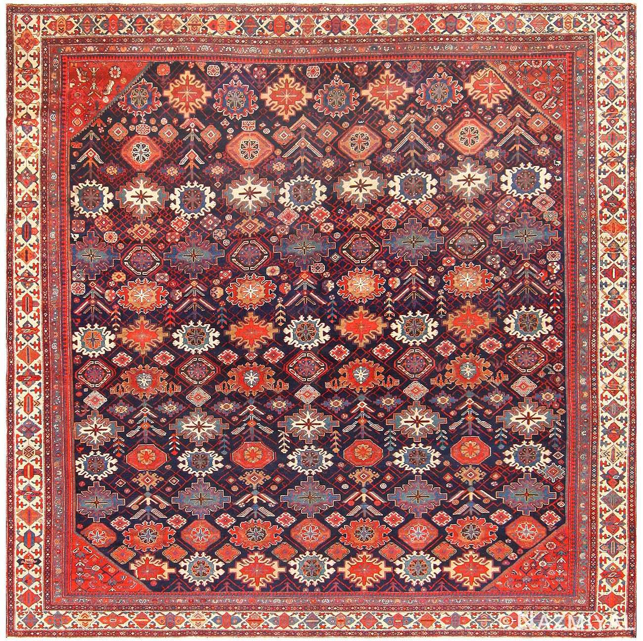 Square Antique Malayer Persian Carpet 48467 Nazmiyal