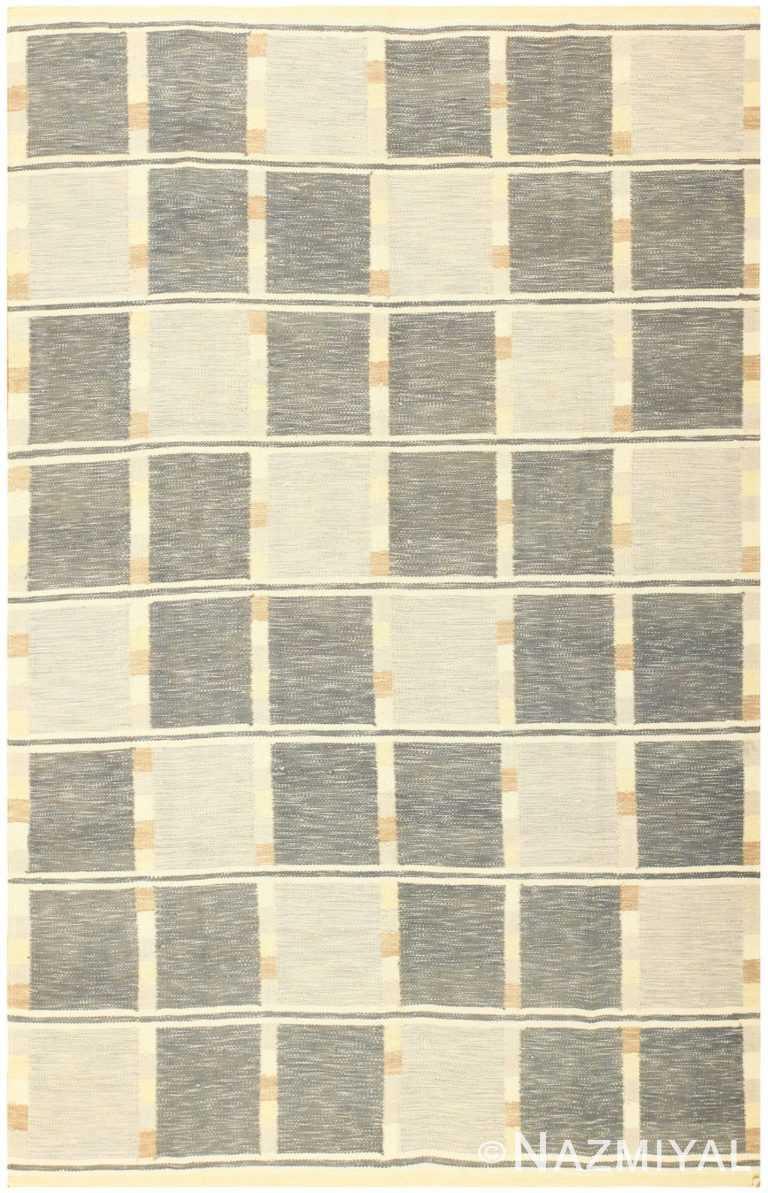 Modern Contemporary Swedish Inspired Carpet 48384 Nazmiyal