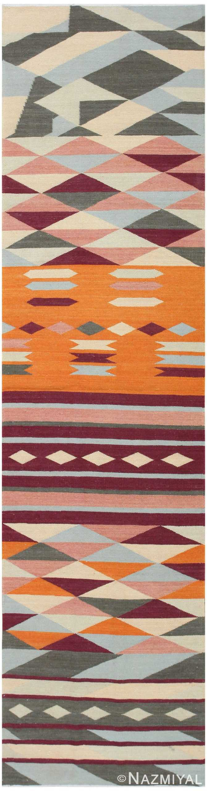 Swedish Inspired Carpet 48475 Nazmiyal