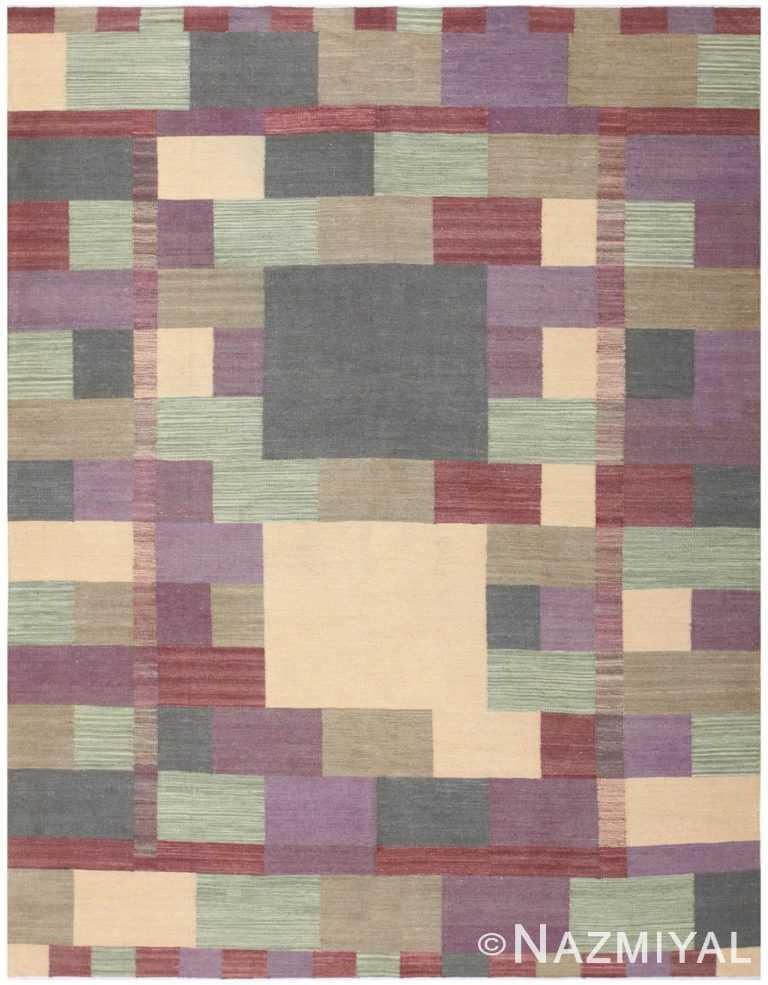 Swedish Inspired Carpet 48478 Nazmiyal