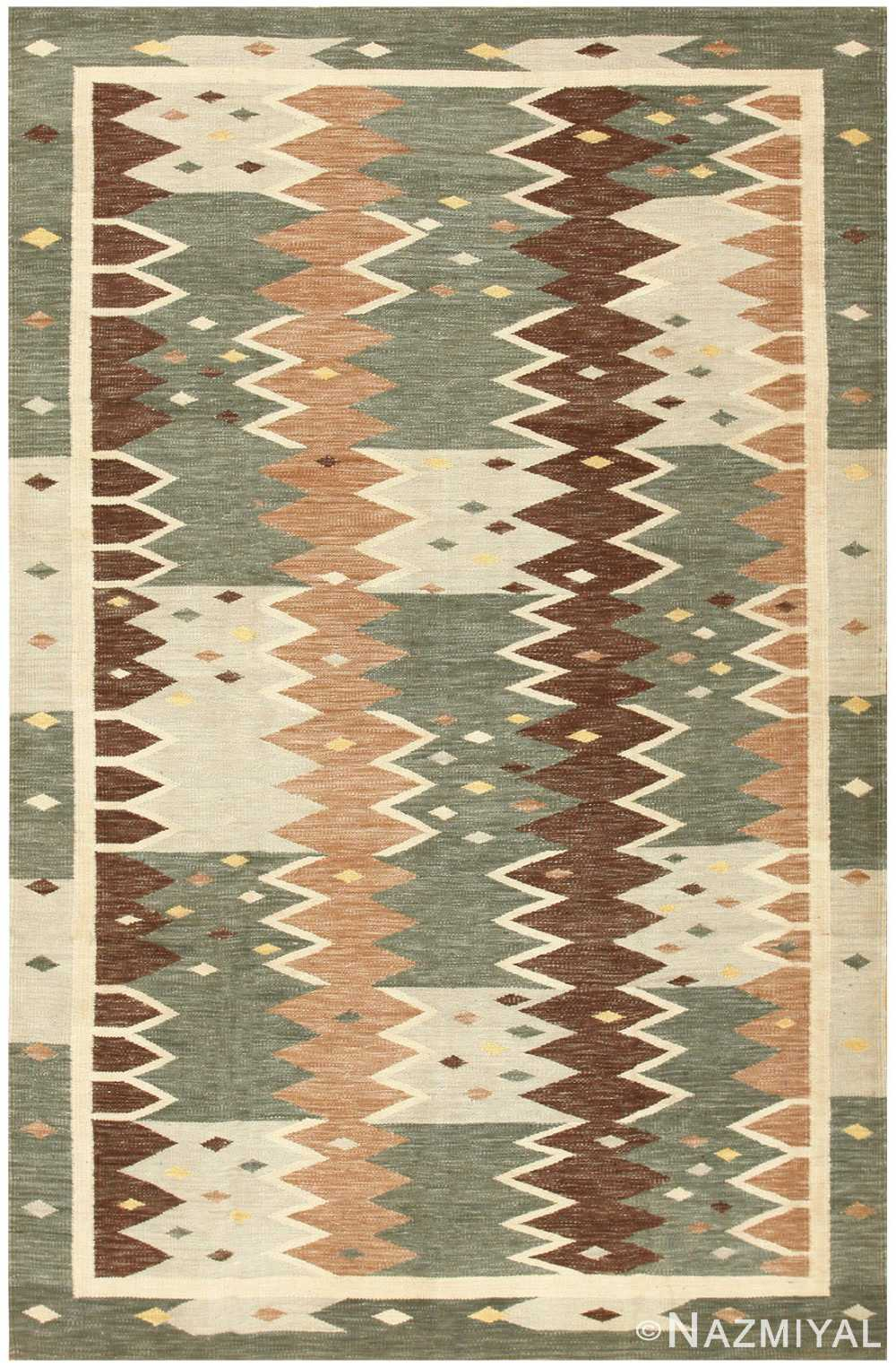 Swedish Inspired Kilim 48519 Detail/Large View