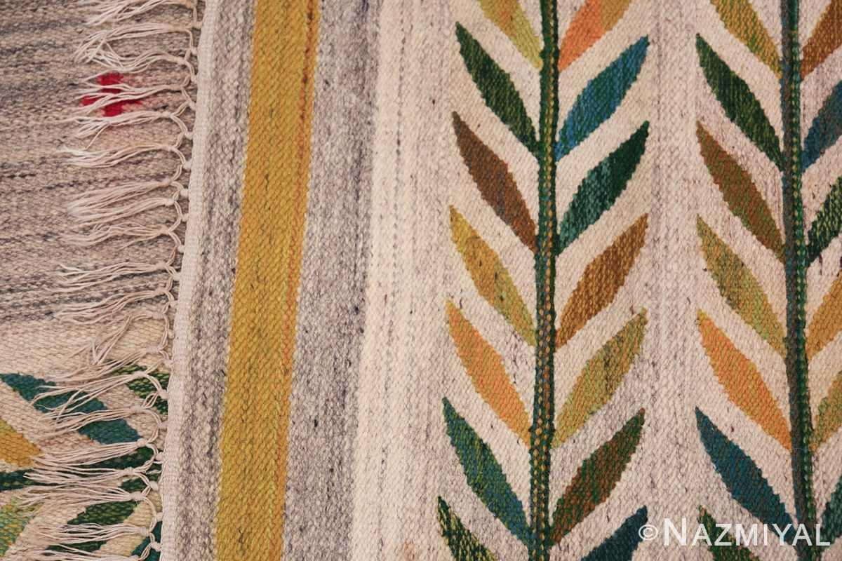 vintage scandinavian swedish carpet 48446 knots Nazmiyal