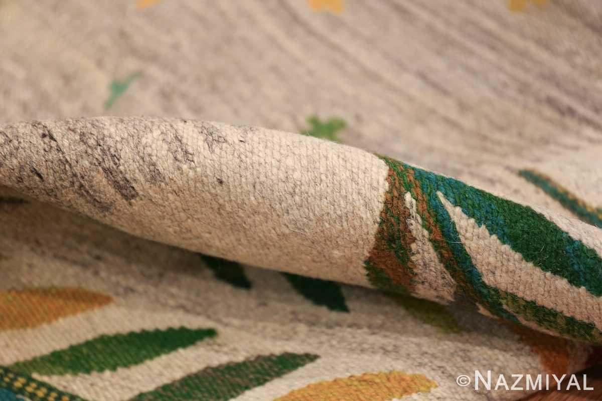 vintage scandinavian swedish carpet 48446 pile Nazmiyal