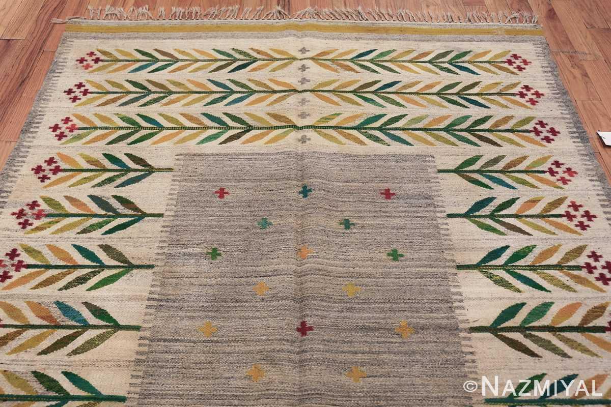 vintage scandinavian swedish carpet 48446 top Nazmiyal