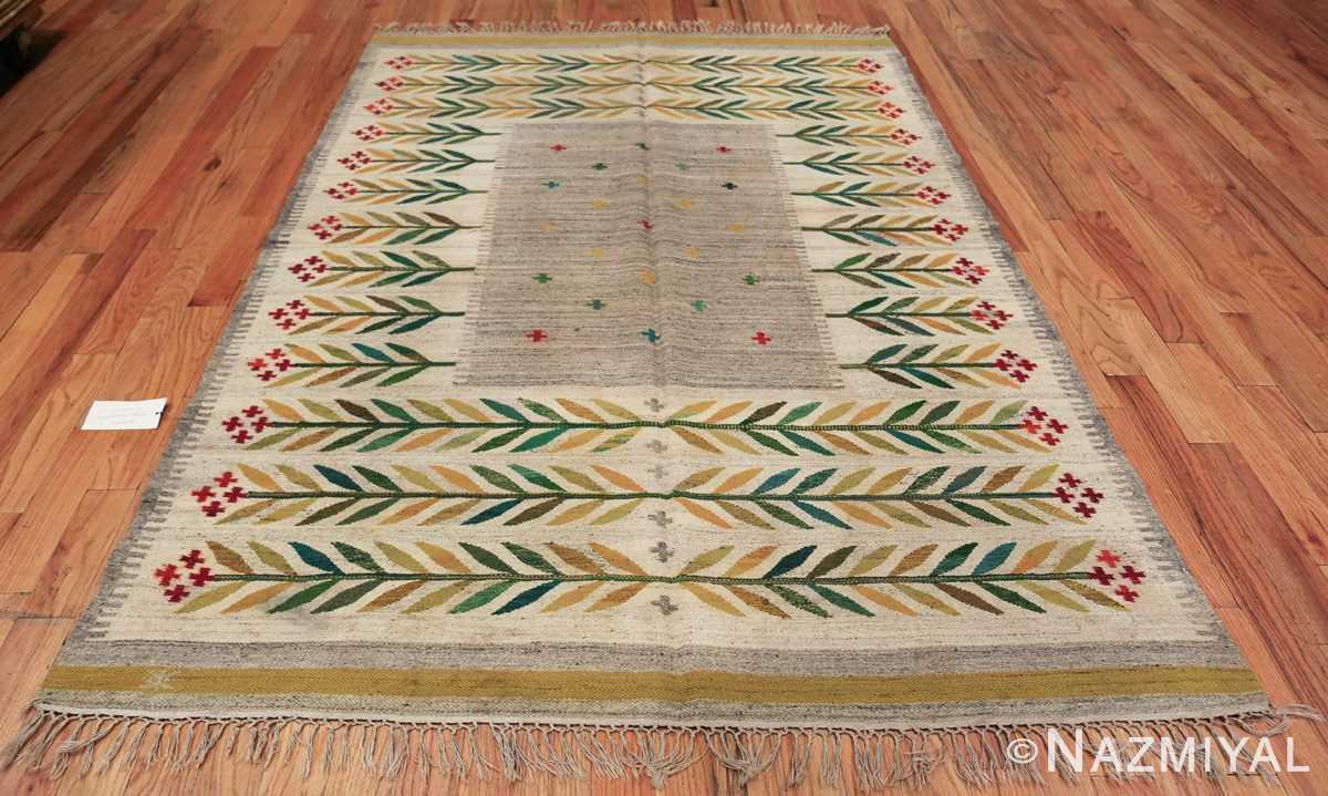 vintage scandinavian swedish carpet 48446 whole Nazmiyal