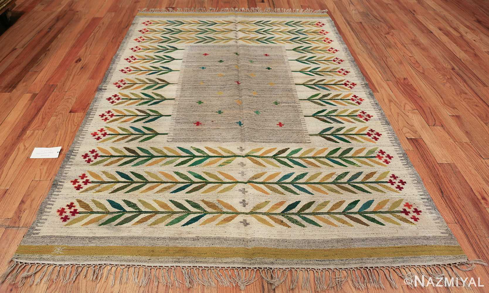 vintage scandinavian swedish carpet 48446 whole Nazmiyal