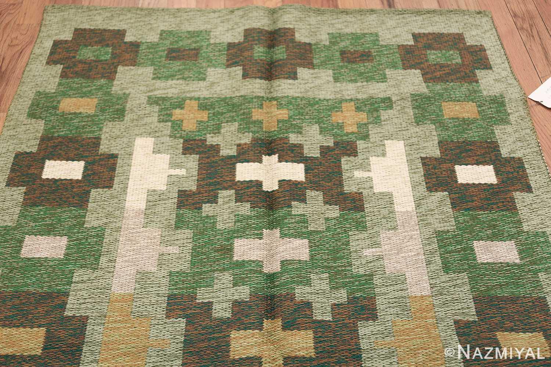 Vintage Swedish Carpet 48454 Top Design Nazmiyal