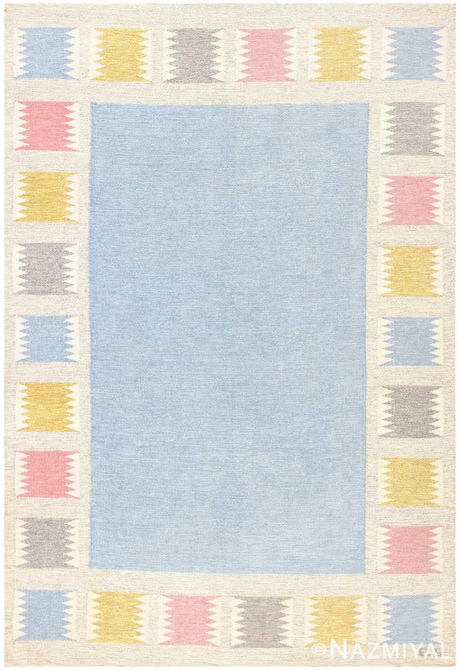 Vintage Swedish Carpet by Birgitta Soderkvist 48451 Nazmiyal