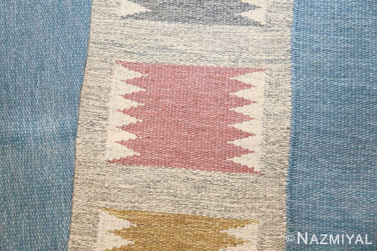 Vintage Swedish carpet by Birgitta Soderkvist 48451 knots Nazmiyal