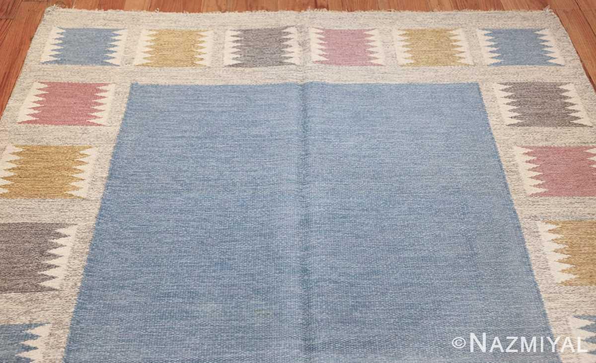 Vintage Swedish carpet by Birgitta Soderkvist 48451 top Nazmiyal
