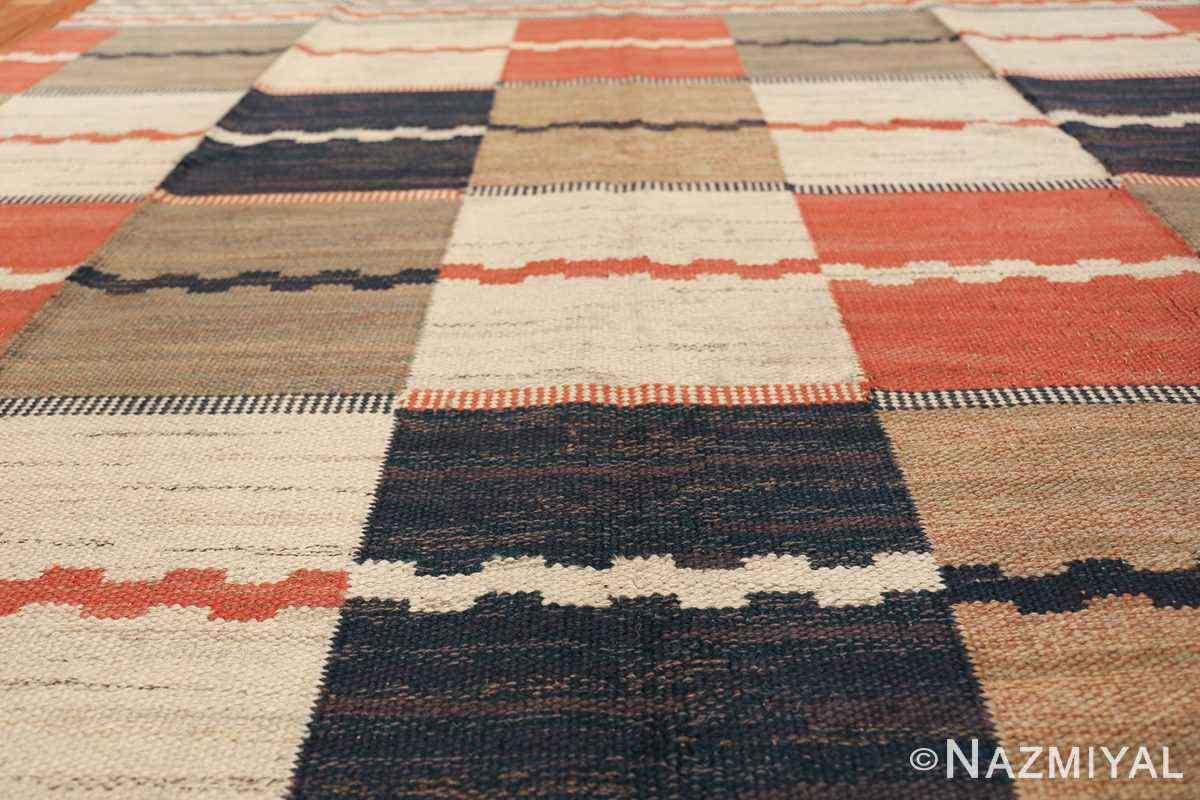 vintage swedish carpet by marta maas fjetterstrom 48438 field Nazmiyal