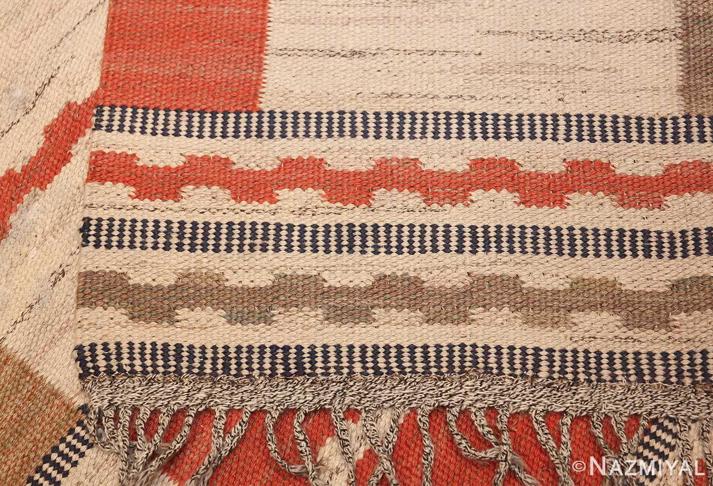 vintage swedish carpet by marta maas fjetterstrom 48438 knots Nazmiyal