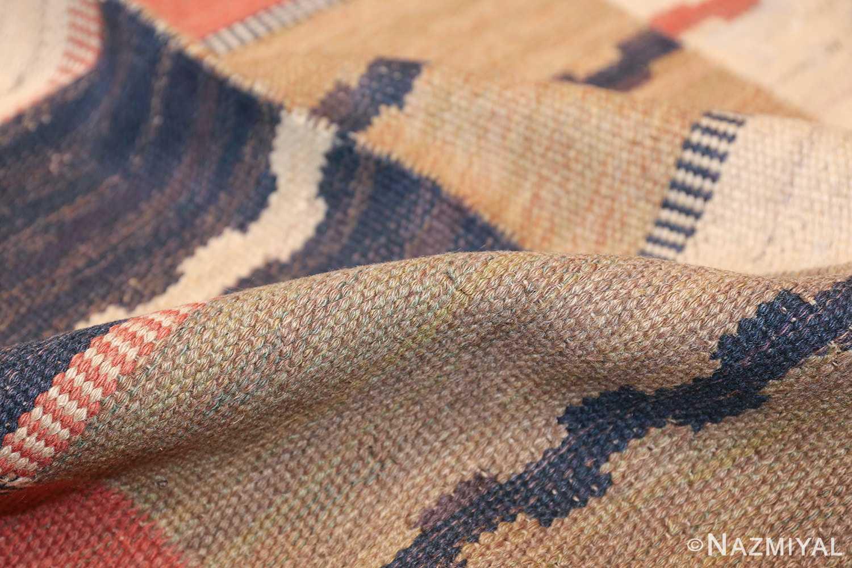 vintage swedish carpet by marta maas fjetterstrom 48438 pile Nazmiyal