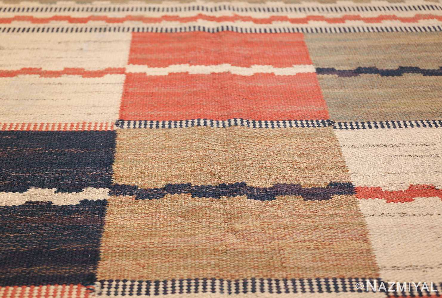 vintage swedish carpet by marta maas fjetterstrom 48438 texture Nazmiyal