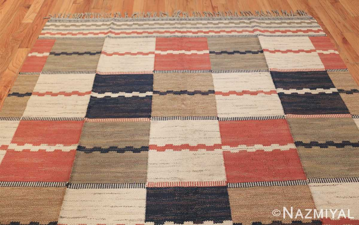 vintage swedish carpet by marta maas fjetterstrom 48438 top Nazmiyal