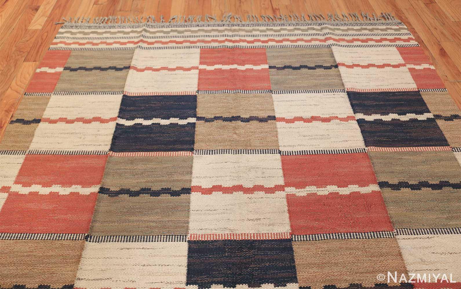 vintage swedish carpet by marta maas fjetterstrom 48438 top Nazmiyal