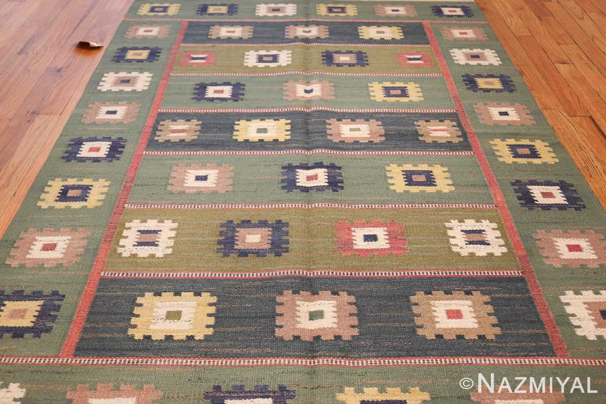 vintage swedish carpet by marta maas fjetterstrom 48443 field Nazmiyal