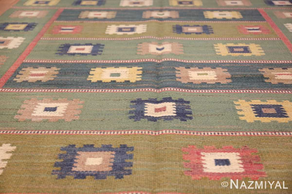 vintage swedish carpet by marta maas fjetterstrom 48443 lines Nazmiyal