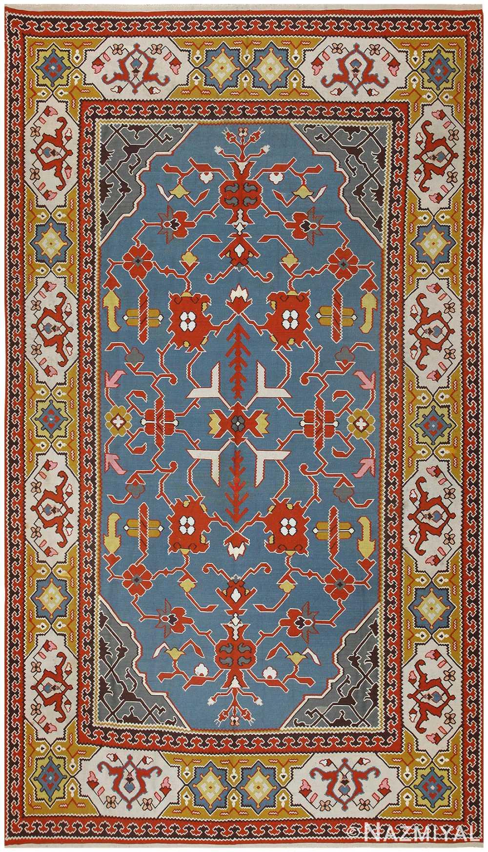 Vintage Turkish Kilim 50193 Detail/Large View