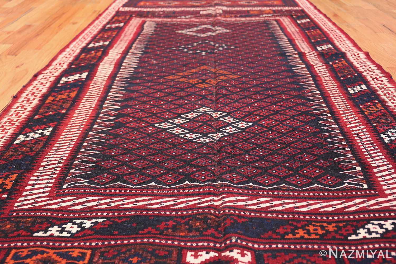 Vintage Turkish Kilim Rug 50168 Field Design Nazmiyal