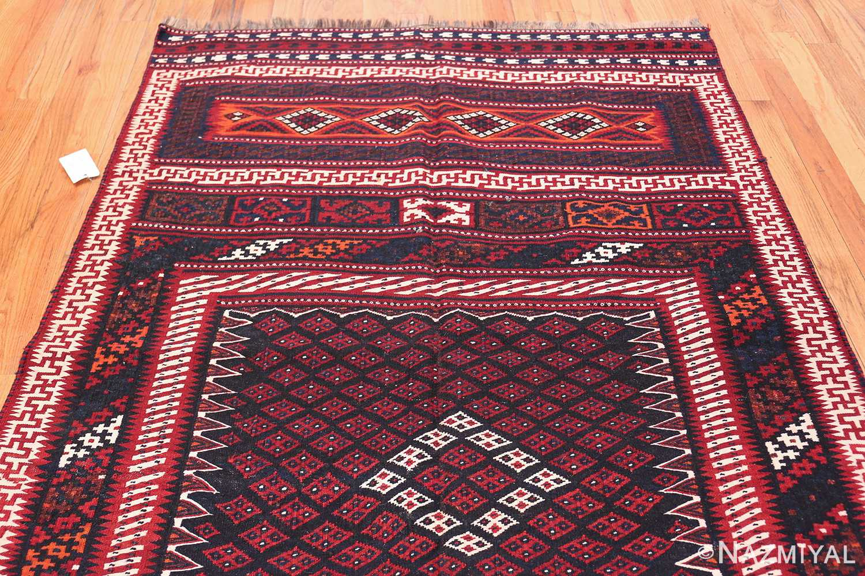 Vintage Turkish Kilim Rug 50168 Top Design Nazmiyal
