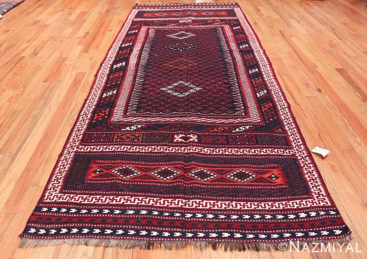 Vintage Turkish Kilim Rug 50168 Whole Design Nazmiyal