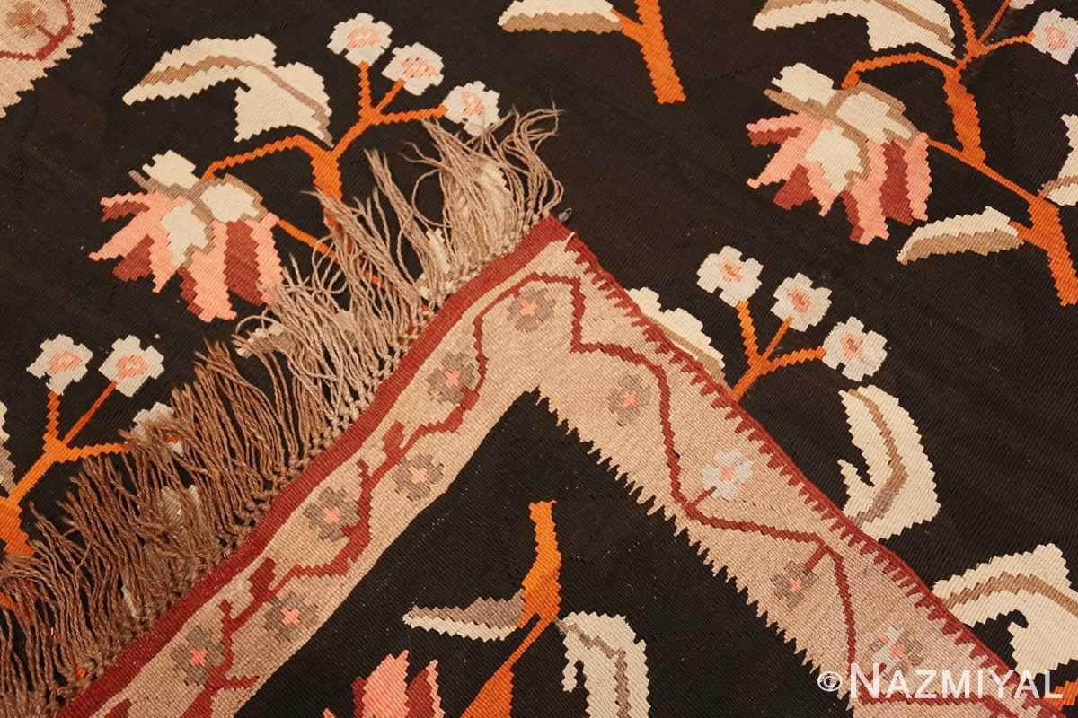 Weave Antique Romanian Besserabian kilim 50195 by Nazmiyal
