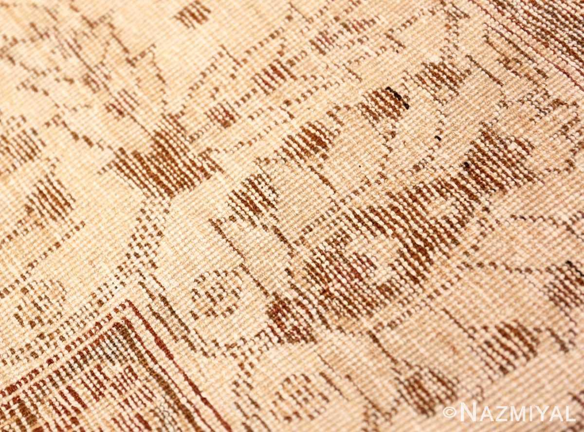 Weave detail Vintage Purple Moroccan rug 45984 by Nazmiyal