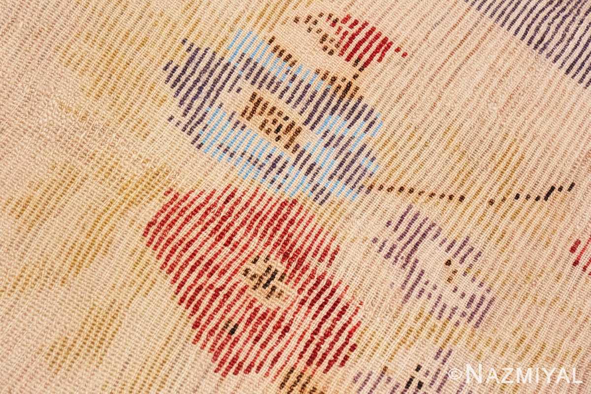 Weave detail Vintage Turkish Sivas rug 50163 by Nazmiyal