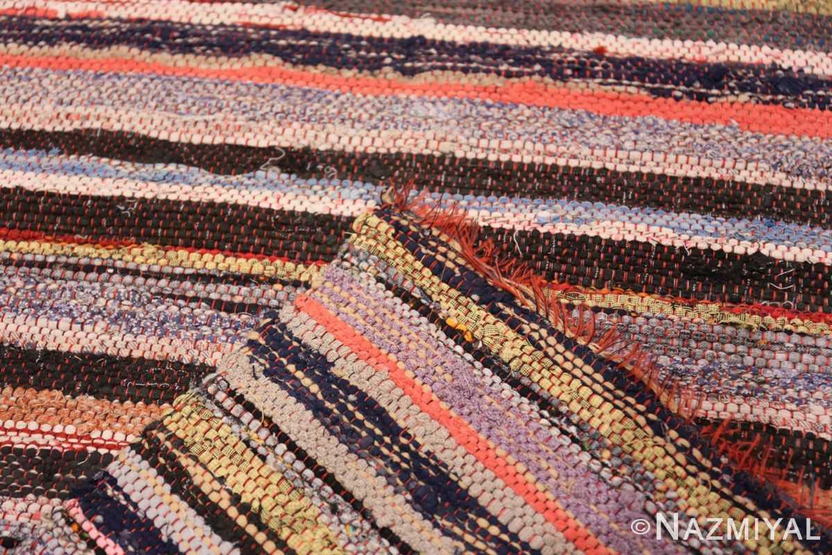 Weave Vintage Swedish rag rug 46660 by Nazmiyal