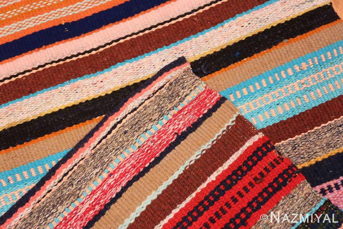 Weave Vintage Swedish rag rug 46667 by Nazmiyal