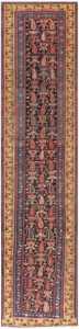 Antique Bidjar Persian Runner Rug 50280 Nazmiyal