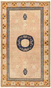 Antique Khotan Rug from East Turkestan 50305