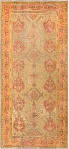 Antique Oversized Turkish Oushak Rug 50239 Nazmiyal