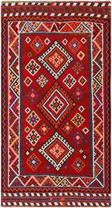Antique Persian Ghashgai Rug 50269