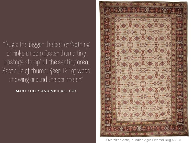 Decorating Tip Quote By Mary Foley and Michael Cox - Nazmiyal