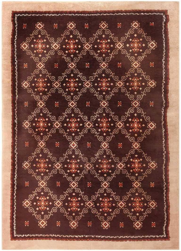 French Art Deco Carpet 50277 Detail/Large View